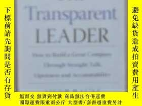 二手書博民逛書店英文原版罕見The Transparent Leader by