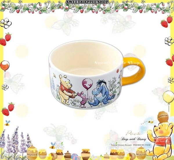 (現貨&樂園實拍)  日本限定 東京迪士尼 x Afternoon tea 聯名限定 小熊維尼家族 陶瓷 杯子