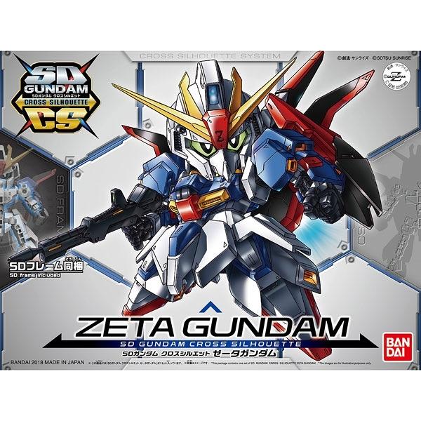 鋼彈模型 SDCS Z鋼彈 骨架可換 機動戰士ZETA BB戰士 TOYeGO 玩具e哥