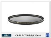 送USB 小米風扇~ STC CIR-PL FILTER 環形 偏光鏡 72mm (CPL 72,公司貨)