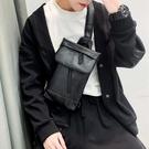 簡約男士小包新款皮質側背包時尚街頭ipad斜背包戶外后背包2021潮