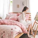 床包 / 雙人【花語夢境】含兩件枕套  60支精梳棉  戀家小舖台灣製AAS201