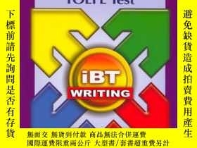 二手書博民逛書店Longman罕見Preparation Course for the TOEFL Test: iBT Writi