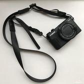 Sozor相機肩帶微單M50M100理光GR2掛繩索尼RX100M6M5窄款柔軟背帶