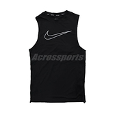 Nike Pro Dri-FIT 無袖緊身衣 黑 白 大勾勾 可內搭 輕量透氣 男款 【ACS】 DD1989-010