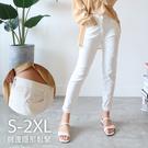 現貨◆PUFII-長褲 S-2L加大尺碼素面率性直筒褲- 0528 夏【CP18650】