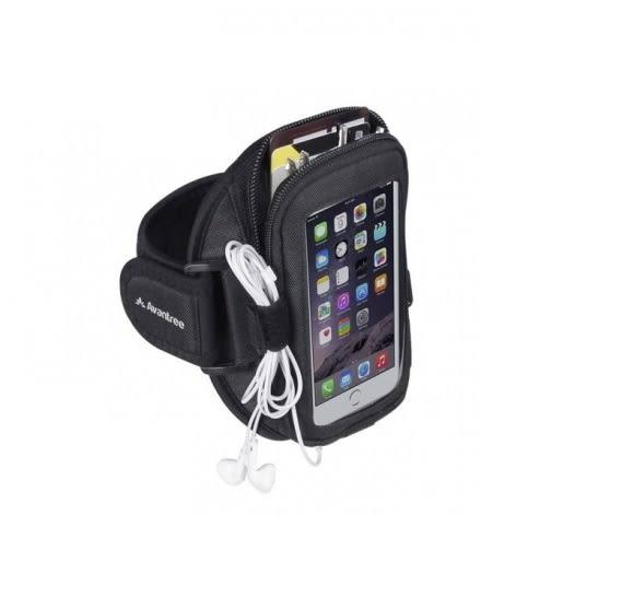 Avantree Ninja 運動 防潑水手機臂包,大容量 運動臂套耳機出線孔設計,iPhone 4.7吋可用,海思代理