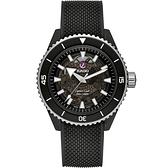 RADO 雷達 庫克船長高科技陶瓷鏤空機械錶-43mm R32127156
