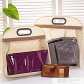 加厚雙面透明包包收納袋神器掛袋掛包儲物袋防塵掛式收納袋子  中秋特惠