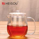 茶壺玻璃茶壺 耐高溫過濾泡茶杯可加熱泡花草茶壺茶具茶器 免運直出 交換禮物