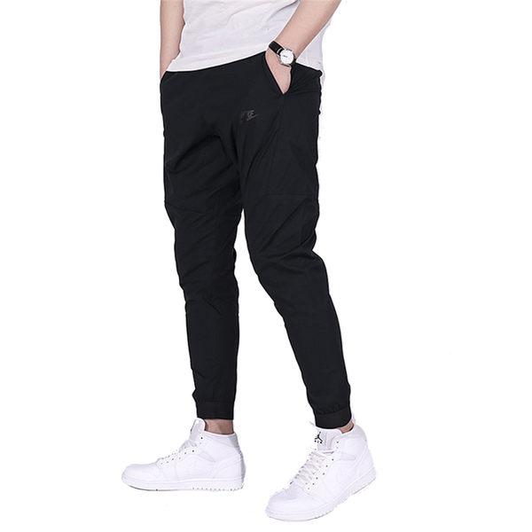 Nike Sport Swear Bonded 男 黑 長褲 縮口 舒適 慢跑褲 休閒長褲 拉鍊口袋 823364010