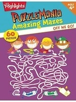 二手書博民逛書店《Highlights Off We Go!: Amazing Mazes for Beginners》 R2Y ISBN:9781590789025