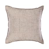 浮紋編織抱枕45x45cm大地米