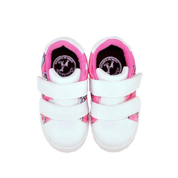 FEARLESS兒童休閒鞋-變形蟲(粉)