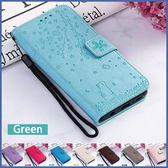 三星 Note10 Note10+ S10 S10+ 櫻花貓 手機皮套 插卡 支架 掀蓋殼 可掛繩 保護套