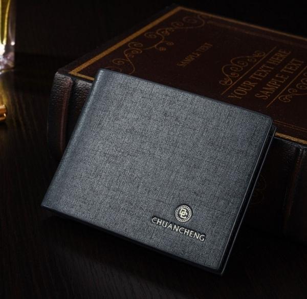 新款上市► P款-金蔥砂漆面皮夾◄超優質感/型男/短夾㊣皮夾短夾非長夾中夾零錢包鈔票夾名片