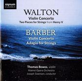 【停看聽音響唱片】【CD】巴伯、華爾頓:小提琴協奏曲、巴伯:弦樂慢板