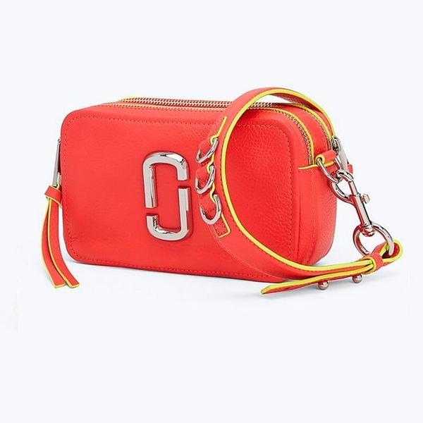 MARC JACOBS The Softshot 21 bag 簡約時尚小方包斜挎包、迷你單肩包