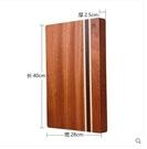 (經典條紋小號(長40*寬28*厚2.5CM))菜板烏檀木實木砧板案板佔板加厚抗菌防黴切菜板