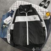 春夏季薄款男士夾克韓版寬鬆潮流青年學生棒球服男裝上衣工裝外套