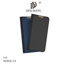 【愛瘋潮】DUX DUCIS NOKIA 3.4 SKIN Pro SKIN Pro 皮套 鏡頭保護 可插卡 可站立 手機殼