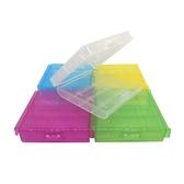 ◆免運費◆Digistone 電池收納盒 3/4號電池(共用) 4/5入裝收納盒 5色炫彩(透明/黃/綠/紅/藍色)X5個
