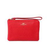 【COACH】L型拉鍊手拿包(紅莓色)F58032 IMDN8