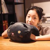 可愛卡通暖手捂抱枕韓國萌公仔可插手搞怪懶人捂手枕女生毛絨玩具 美芭