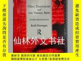 二手書博民逛書店【罕見】Oral Traditions and the Verb