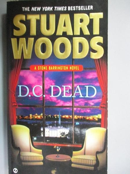 【書寶二手書T2/原文小說_HOB】D. C. Dead_Woods, Stuart