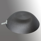 炒鍋生鐵平底鑄鐵鍋老式傳統鐵鍋炒菜鍋鍋具32CM   汪喵百貨