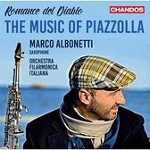 【停看聽音響唱片】【CD】皮亞佐拉的音樂 (惡魔的浪漫) 馬可亞伯涅堤 薩克斯風 義大利愛樂樂團