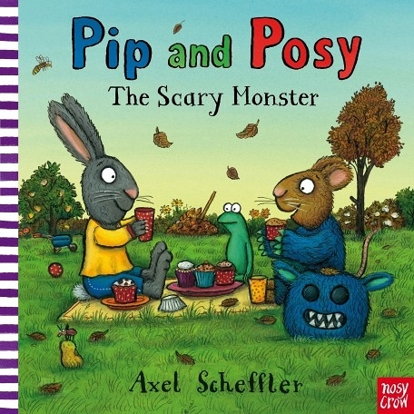『線上聽.手上讀』PIP AND POSY THE SCARY MONSTER  / 英文繪本 (故事免費線上聽) 《主題:友誼》