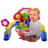 【奇買親子購物網】HUILE 多功能幼兒健身琴/健力架 贈豆豆安撫巾*1