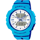 BGA-240L-2A2 藍  BABY-G 慢跑運動錶