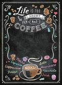 【拼圖總動員 PUZZLE STORY】黑板系列-咖啡 義大利/Clementoni/1000P