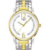 TISSOT 天梭 T-Trend Lady 都會名媛手錶-白/半金 T0522102203700
