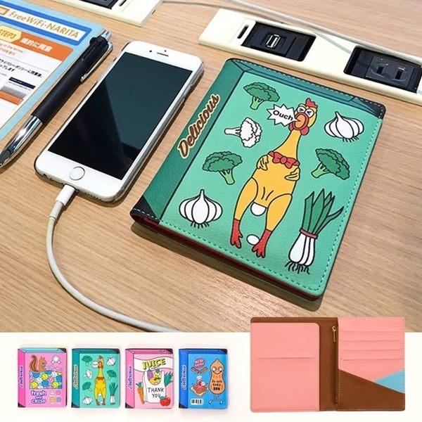 護照夾-假立體皮革護照包/證件夾/卡片夾-共4色-B300017-FuFu