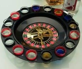 16杯酒具轉盤