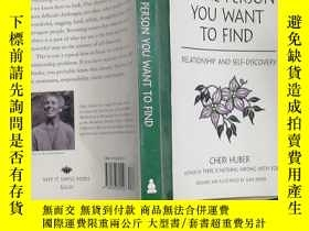 二手書博民逛書店BE罕見THE PERSON YOU WANT TO FINDY