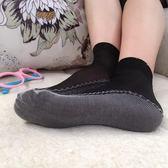 薄款包芯絲絲襪短襪防勾絲棉底防滑加厚襪女襪肉色水晶春秋中筒  ifashion部落