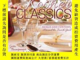 二手書博民逛書店Kosher罕見Classics Cookbook: Menus