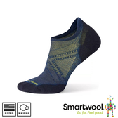【SmartWool 美國 Phd跑步輕量菁英減震型踝襪《靛藍》】SW0SW167/排汗襪/短襪/踝襪/運動襪