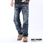 BIG TRAIN 惡童骷髏2代垮褲-男-深藍