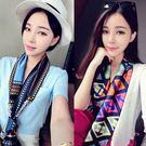 絲巾--披肩百搭女士韓國領巾 端午節禮物