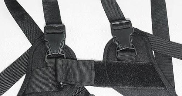 呈現攝影-SAMARK SK-02 快槍俠雙肩背帶 快速背帶 斜背減壓 舒適 減重 防滑 快速 似Black Rapid