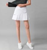 速干健身運動褲裙女假兩件半身短裙羽毛球裙網球裙馬拉鬆跑步裙 TR1120『寶貝兒童裝』