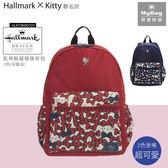Hallmark x Hello Kitty 後背包 紅色 凱蒂躲貓貓後背包 HLKT0X003RD MyBag得意時袋