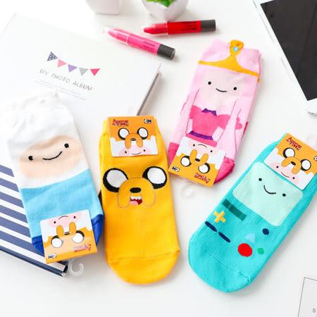 韓國 探險活寶短襪 四分襪 造型襪 流行襪 短襪 阿寶 老皮 泡泡糖公主 嗶莫