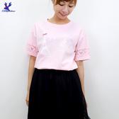 【春夏新品】American Bluedeer - 蕾絲印花棉T 二色